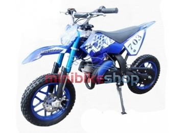Minicross KXD3, modrý