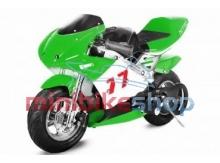 Minibike PS77, čierna-zelená