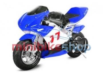 Minibike PS77, modrá-čierna