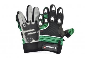 Dětské MotoCross rukavice Heipe Zelené