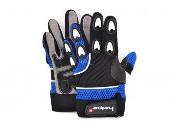 Dětské MotoCross rukavice Heipe Modré