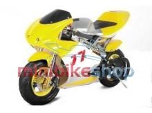 Minibike PS77, žltá-čierna