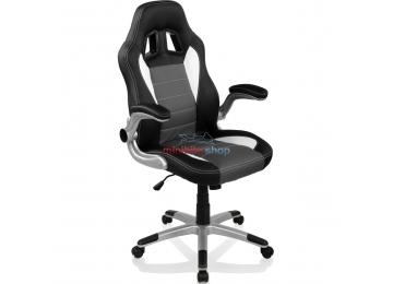 Kancelárska stolička Monza Racing Black - Grey