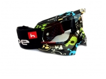 Motokrosové okuliare Heipe Racing Skull
