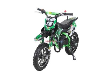 Minicross Gepard 49ccm Sport Edition - zelená