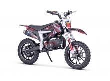 Minicross MiniRocket Motors Jackal 49ccm - Červená