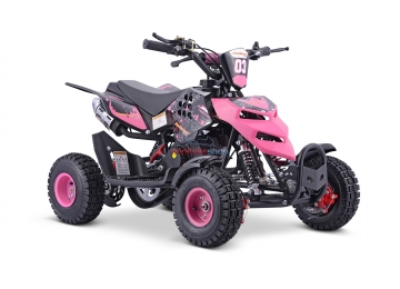 Miniquad Repti 49ccm, Ružový