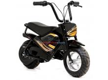 Elektrická motorka MiniRocket Monkey 250W, čierna