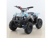 Detská štvorkolka Tiger 49ccm tuning Racing Blue