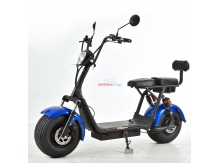 HeipeScooters City Chopper 2000W 60V modrá