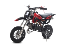 Minicross DS67, čierna-červena