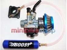 Turbo Boost systém pre 19mm