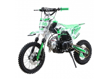 Pitbike MiniRocket Storm 125ccm 14x12, zelený