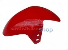 Predný blatník pre minibike, červený