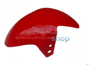 Predný blatník na minibike, červený