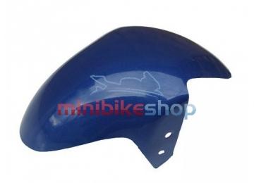 Predný blatník na minibike, modrý