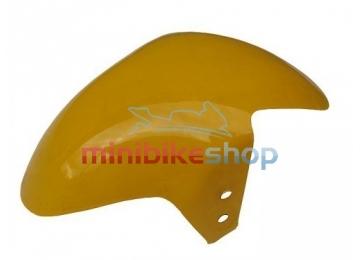 Predný blatník pre minibike, žltý