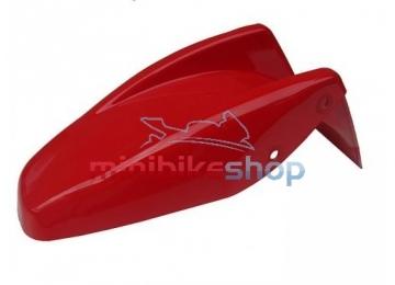 Zadný blatník na minibike, červený