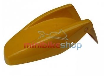 Zadný blatník na minibike, žltý