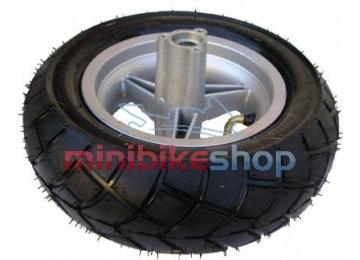 Predné koleso na minibike - ráfik + pneumatika