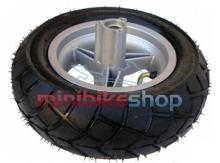 Zadné koleso na minibike - ráfik + pneu