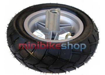 Zadné koleso na minibike - ráfik + pneumatika